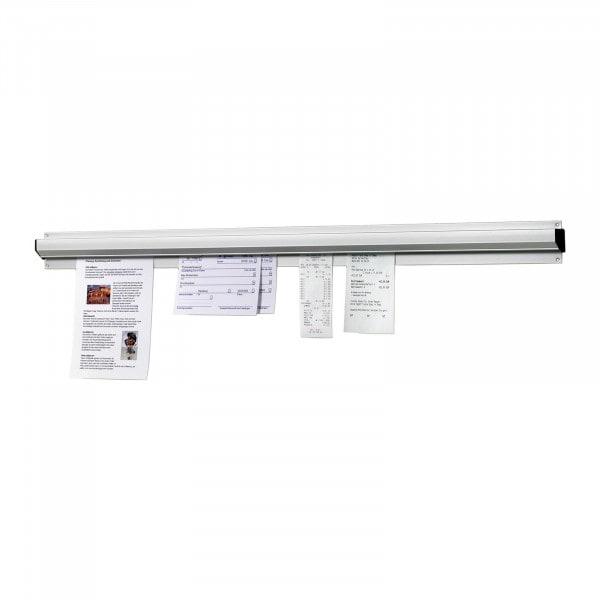Bartscher Zettelhalter - 910mm - Aluminium