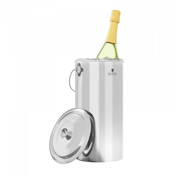 Edelstahleimer - 12 L - für Eis, Sekt