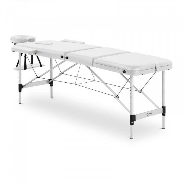 Massageliege klappbar - BORDEAUX WHITE - weiß
