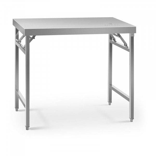 Składany stół roboczy - 100 x 60 cm - 200 kg