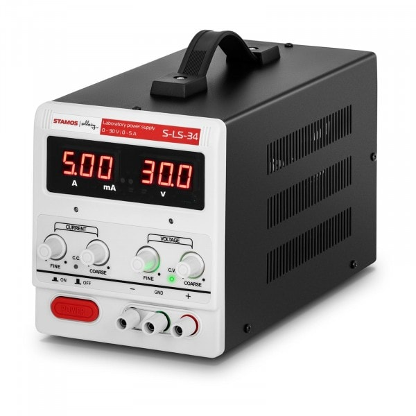 Laboratory Power Supply - 0-30 V - 0-5 A DC - 150 W