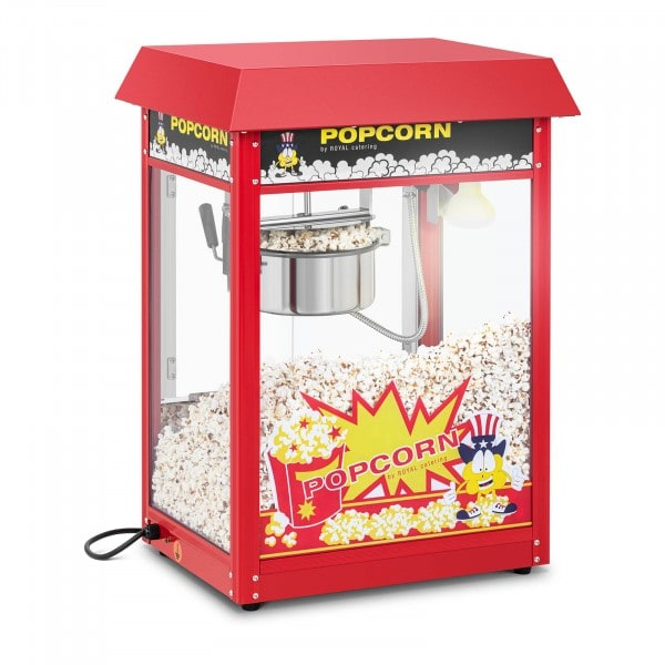 Machine à popcorn - Toit rouge