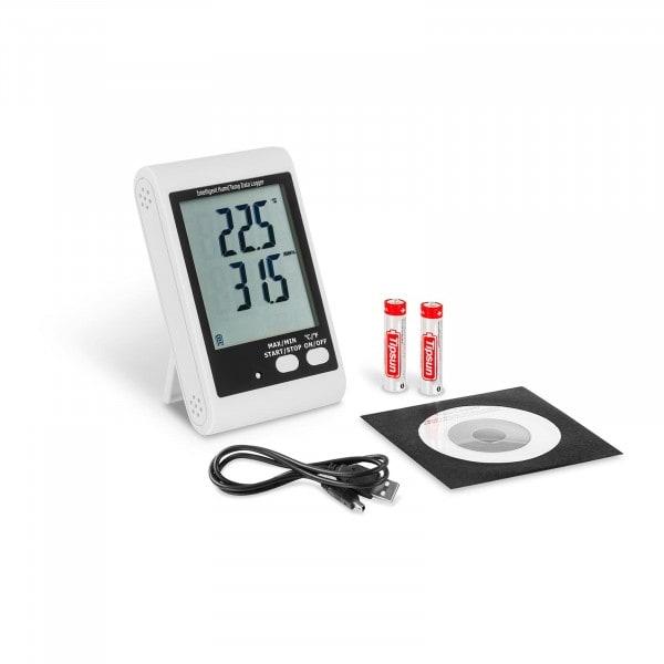 Datalogger - LCD-skjerm - Temperatur + Fuktighet
