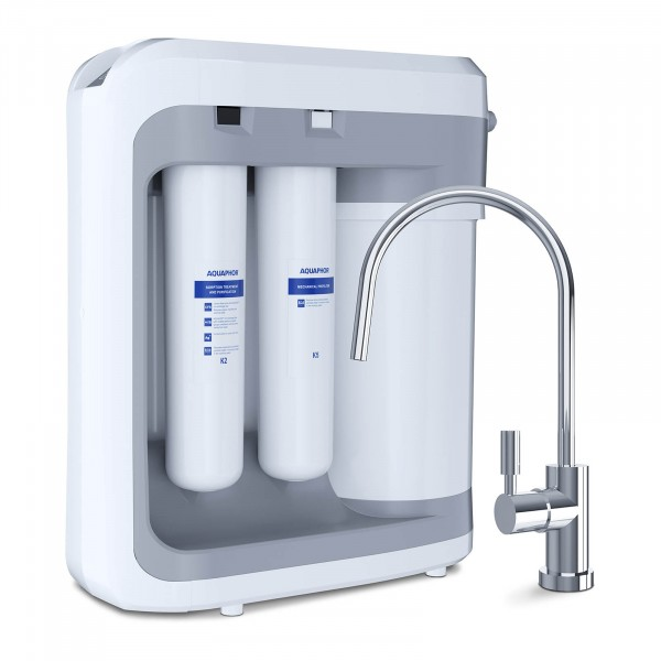 Tweedehands Aquaphor omgekeerde osmose waterfiltersysteem - 450 l / dag - met kraan