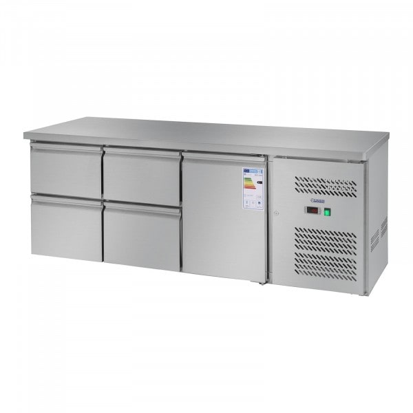 Worktop Fridge - 403 L - 1 Door - 4 Drawers