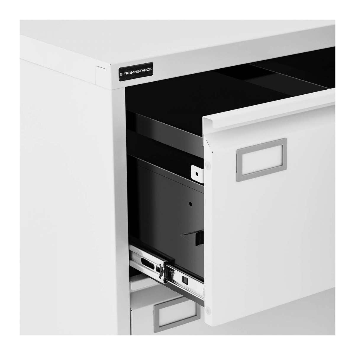 Cassettiera per ufficio in metallo con serratura a chiave ...