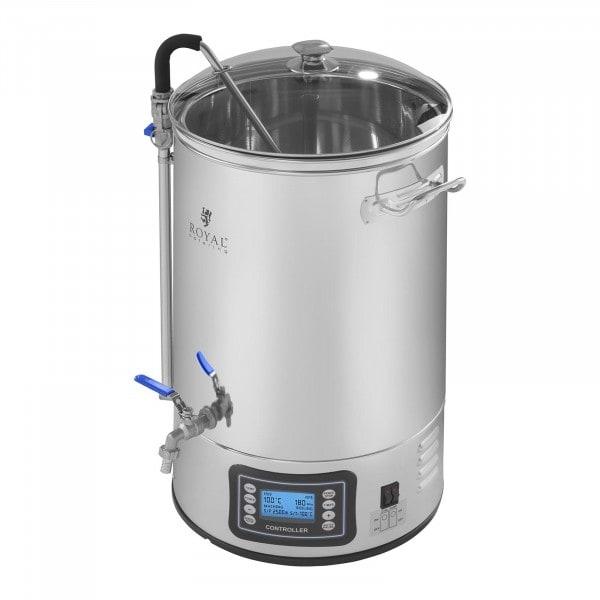 Kakkoslaatu Kotipanimo mäskäyskattila - 30 litraa - 2500 wattia