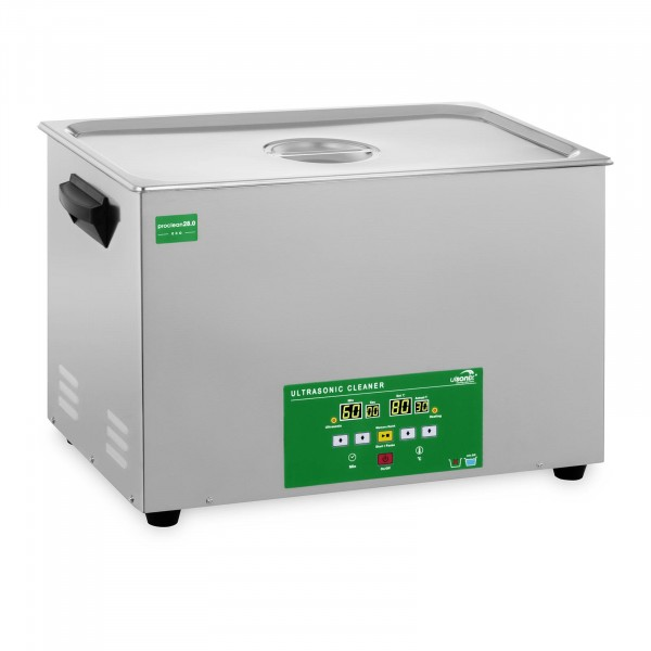B-Ware Ultraschallreiniger - 28 Liter - 480 W - Memory Quick Eco