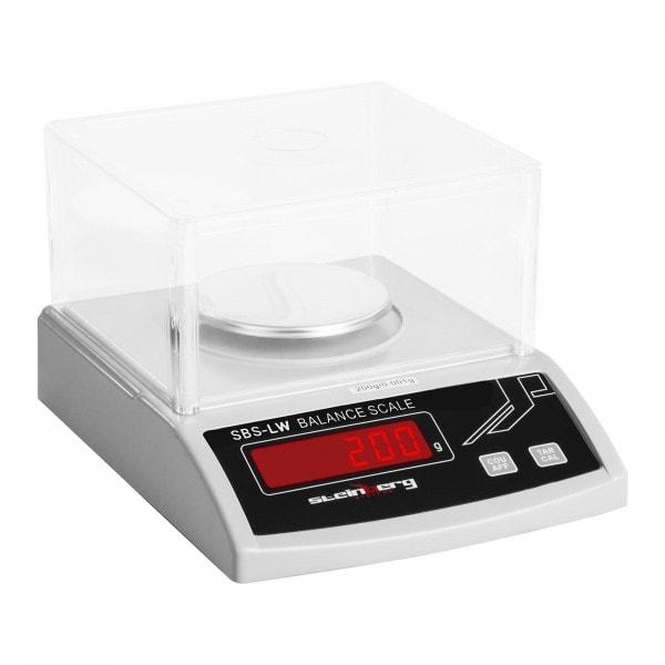 B-Ware Präzisionswaage - 200 g / 1 mg - weiß