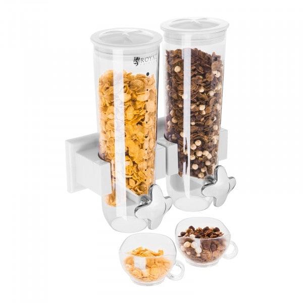 Dispenser per cereali 3 L – 2 contenitori