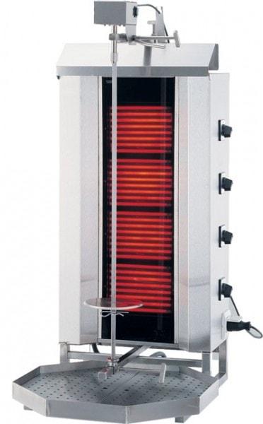 Elektro-Gyrosgerät 3 Brenner - 550x700x960mm