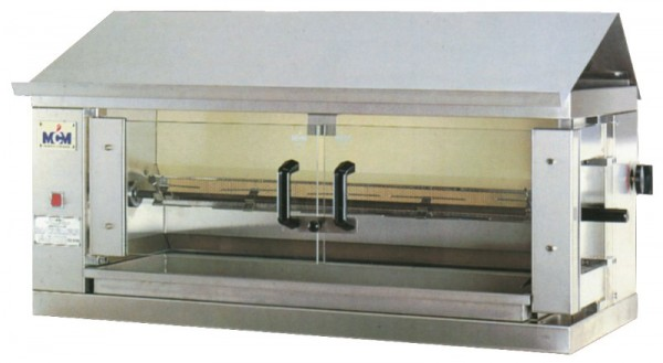 Hähnchengrill - Gas - 1098x480x460 mm