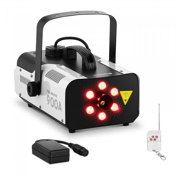 Nebelmaschine - 900 W - 141,6 m³ - LED 6 x 3 W