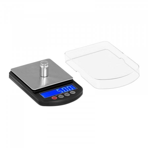 Digital presisjonsvekt - 3000 g - ±0.05 g / 1000 g - 100 x 100 mm