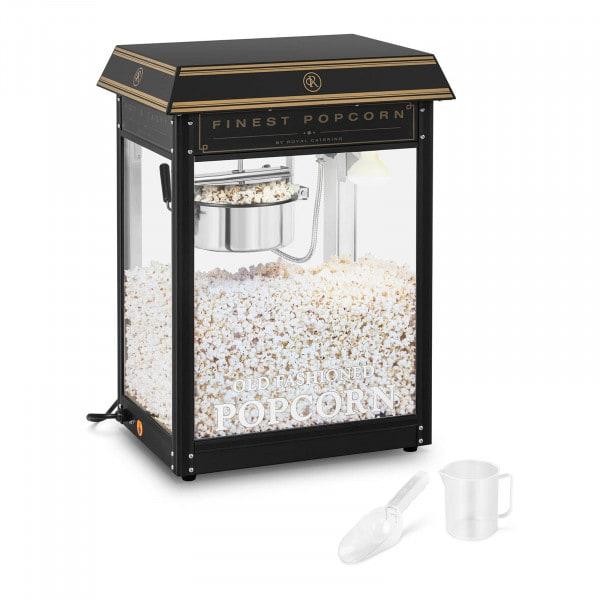 Stroj na popcorn - černo-zlatý