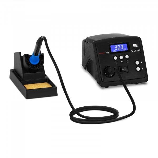 Pájecí stanice - digitální - s páječkou a stojanem na páječku - 60 W - LCD