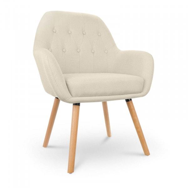 Krzesło tapicerowane - szare