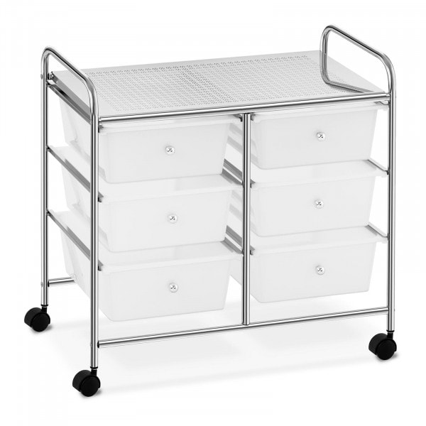 Salon Trolley - 6 drawers