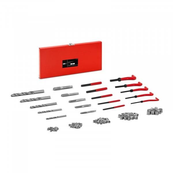 Gewindereparatursatz - M5, M6, M8, M10, M12 - 131-teilig