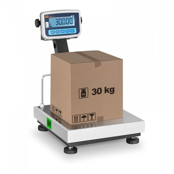 Balanza de plataforma - calibrada - 30 kg / 10 g