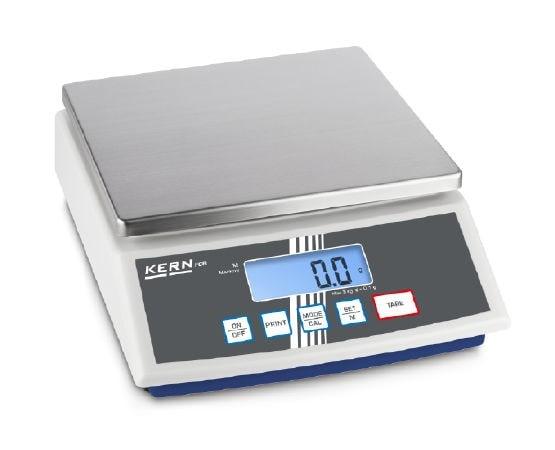 KERN Balanza de mesa Max 12000 g / 1 g