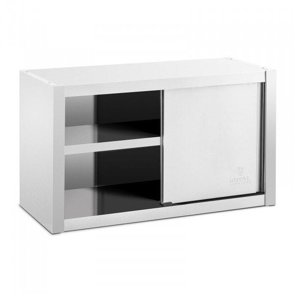 Nástěnná skříňka z ušlechtilé oceli - 100 x 45 cm