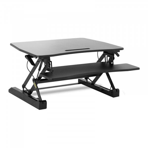 B-varer Hev-senk skrivebord - høydejusterbar, 8 trinn - 16,5 cm til 41,5 cm