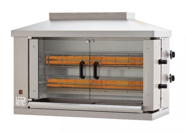 Hähnchen-Grillgerät - 1150x530x780mm