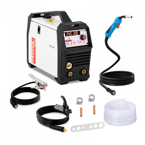 Combined Welder - Digital - MIG/MAG - TIG lift - MMA - 200 A