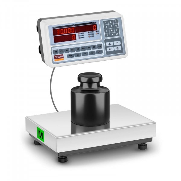 Counting Scale - officially calibrated - 30 kg / 10 g