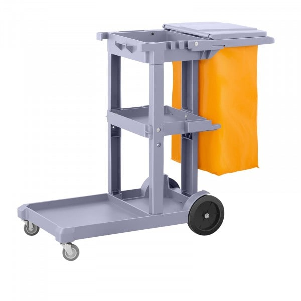 Cleaning Trolley With Laundry Bag And Cover