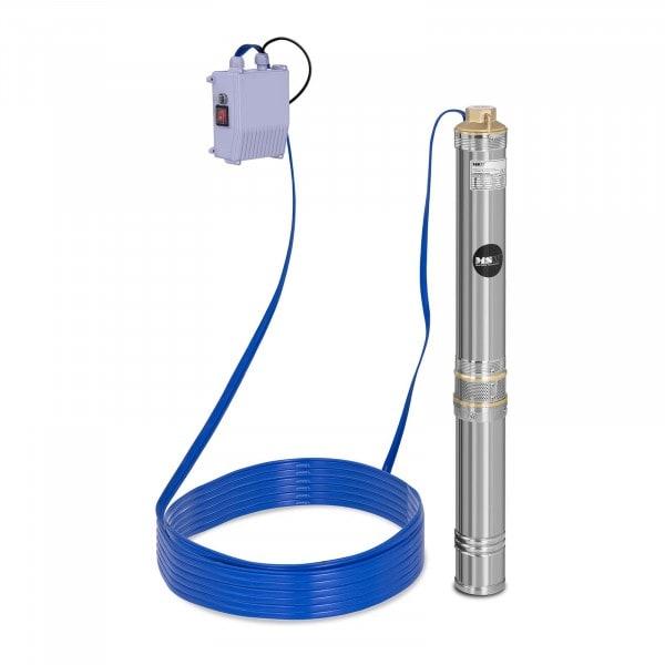 B-termék Búvárszivattyú- 6.000 liter/óra - 750 W - rozsdamentes acél