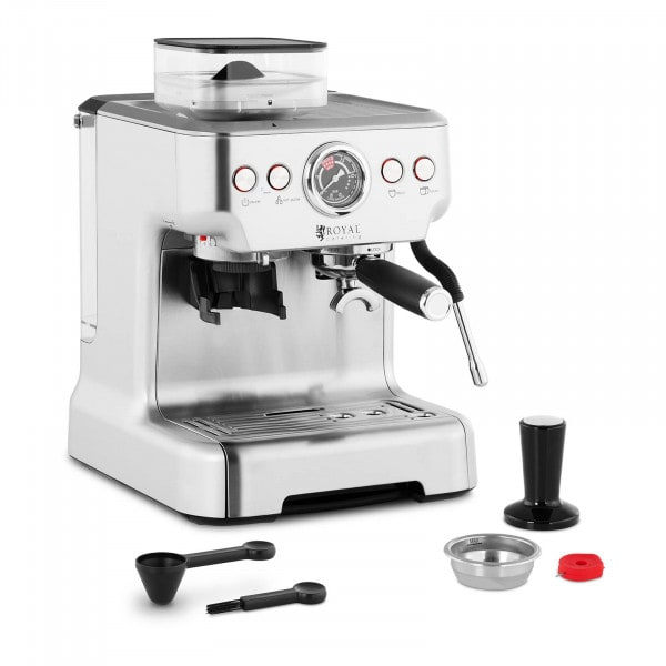 Espressomaschine - 20 bar - LCD - 2,5 L Wassertank