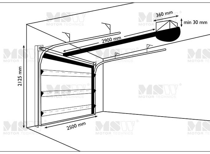 garagentor-diagramm-2500mm-2