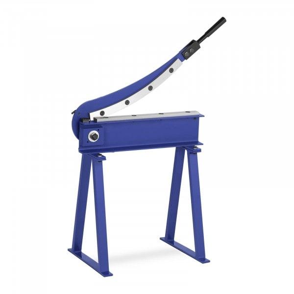 Metallplateklipper - 500 mm snittlengde - inkl. stativ