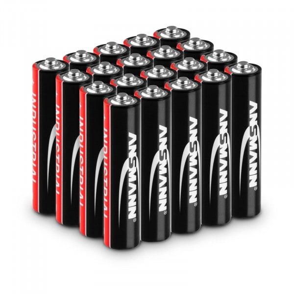 Ansmann INDUSTRIAL batterie alcaline - 20 pile micro AAA LR03 1,5 V