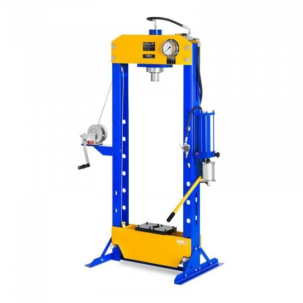Hydropneumatisk verkstedspresse - Opptil 30 tonn trykk