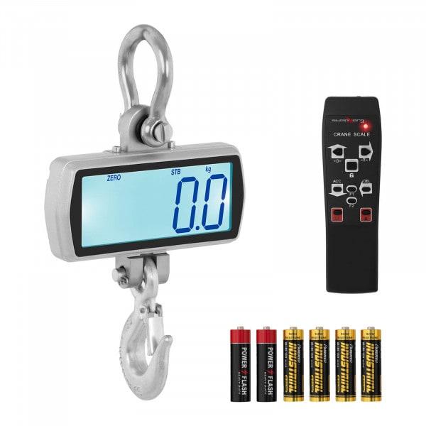 Dinamómetro digital - 1.000 kg / 500 g