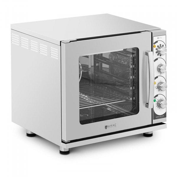 Heißluftofen - 3.000 W - Dampf- und Grillfunktion - inkl. Blech